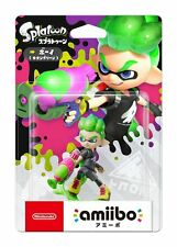 NEW Nintendo 3DS Amiibo Boy Neon Green Splatoon JAPAN OFFICIAL IMPORT