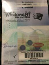 Sealed Windows NT menu and CD sp3 with Keys