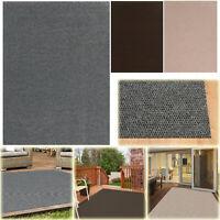 HOBNAIL INDOOR OUTDOOR AREA RUG 6 ft. x 8 ft. Floor Mat Carpet Patio Entryway
