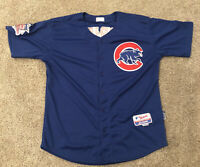 Majestic Authentic Chicago Cubs Jake Arrietta MLB Baseball Jersey Size 48