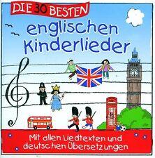 CD   DIE 30 BESTEN ENGLISCHEN KINDERLIEDER    Neu & Eingeschweißt