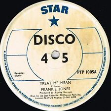 "star 12"":FRANKIE JONES-treat me mean / movie star (hear)"
