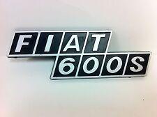 Original Fiat 600S Emblem -NEW- #773A