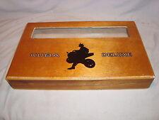 DREW ESTATE ACID KUBA DELUXE W/WINDOW WOOD CIGAR BOX