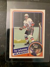 1984-85 O-PEE-CHEE #129 PAT LAFONTAINE ROOKIE.......NM-MT+