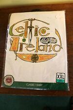 Irish Celtic Ireland T Shirt NIP By Traditional Craftwear XXL 6 Free Coasters