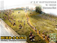 1:32 HUGE 8X4 DIORAMA MAT wROAD for KING & COUNTRY CONTE Britains 40k g