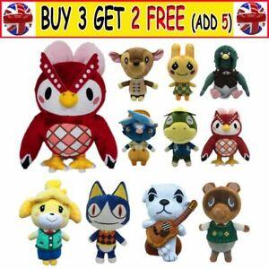 Animal Crossing Plush Toys Doll Marshal Raymond Stitches Soft Stuffed Kids Gift