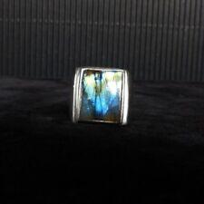 Ring Gr.58 Silber 925 mit Labradorit