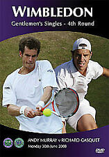 Wimbledon - The 2008 Men's 4th Round - Murray v Gasquet (DVD, 2008)