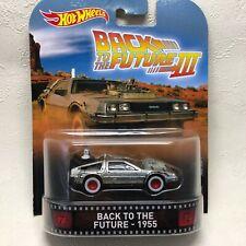 Back to the Future3DeLorean figure Hot Wheels Dmc-12 Time Machine