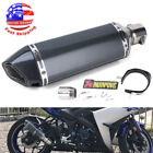 Universal Motorcycle ATV Slip-on Exhaust Muffler Pipe DB Killer Silencer 38-51mm