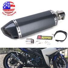 Universal Motorcycle ATV Slip-on Exhaust Muffler Pipe DB Killer Silencer 38-51mm