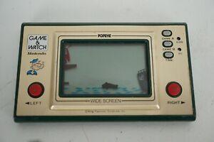 Vintage Nintendo Game & Watch Popeye Handheld Video Game