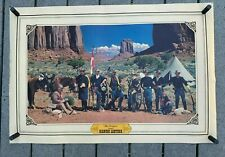 """VTG 1980 BIANCHI Leather """"The Troopers"""" Promotional Advertising Poster 24""""x35"""""""