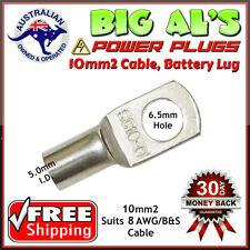 10 x 10-6 10mm2-6mm Dual Battery Auto Automotive Cable Lug Connector Crimp 8B&S