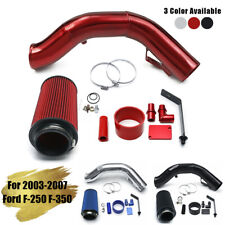 """4"""" Cold Air Intake Kit Pipe Filter For 03-07 Ford F-250 F-350 Excursion 6.0L"""