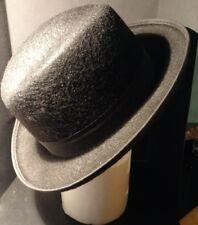 Men'S Black Felt Godfather Hat - Jacobson Hat Company - Fedora, Gangster