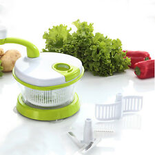 Household Food Processor and Blender Mincer Mixer to Chop Meat Fruits Vegetables