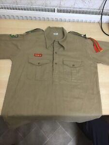 Vintage Boy Scout Senior Shirt 1930s 1940s