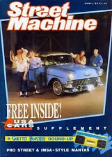 STREET MACHINE APRIL 1987-56 CHEVY-DAX COBRA-37 ROVER TEN PANEL-USA CARS-V8 MAG