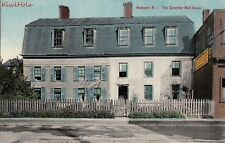 Postcard The Governor Bull House Newport Ri