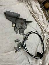 73-79 Ford Truck 78 79 Bronco locking Hood Latch,Release W/ignition Switch W/Key