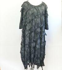 Rundholz Dip Lattice Design Textured Dress from SS19 Runways, OS, fits L, XL