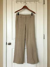 Express Women Winter Career Dress Pants Light Brown With Gold Thread Size: 5/6