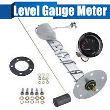"2"" 52mm Fuel Level Transmitter Gauge Oil Meter Sensor  E-1/2-F Pointer Universal"