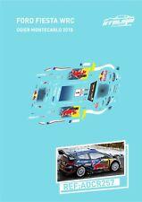 CALCAS FORD FIESTA WRC OGIER MONTECARLO 2018