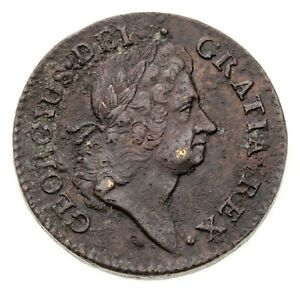 1722 Rosa Americana UTILE DULCI Penny in XF Condition