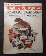1966 TRUE Magazine v.47 #344 GD- Antigravity Why UFOs Go Inside LBJ