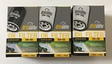 Lot Of 3 New SEALED Driveworks Oil Filter DW-195 * Fram PH3600, Purolator L20195