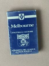 Vintage MELBOURNE Football Club ARDMONA Big League CARD Set Pack, 1981, UNOPENED