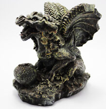 "Gargoyle Dragon w/ Egg Figurine 5.5"" High Excellent Condition FREE FAST SHIPPING"