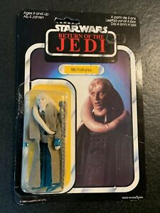Star Wars Vintage 1983 Bib Fortuna ROTJ Original Card MOC