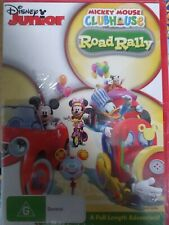 Mickey Mouse Club House Road Rally Dvd, Region 4, Free Postage, A15