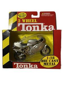 Maisto Tonka 1999 Ducati Supersport 990 FE Silver 1:18 die cast metal motorcycle