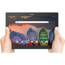 "Lenovo Tab 10 Tablet 10.1"" HD Touchscreen Qualcomm Quad-core Processor 1.30GH..."