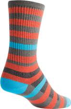 New SockGuy Metro Sock: Orange/Gray LG/XL