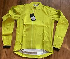 Rapha Core Rain Jacket Yellow Medium Brand New With Tag