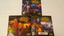 World Of Warcraft - The Burning Crusade Expansion Set CD-Rom  PC Game (Disc 1-3)