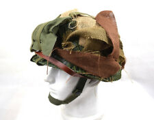 WWII US M1 Double-deck Green Helmet W Airborne Troops Aid Kit & Camouflage Net