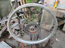 VINTAGE SUZUKI 1983-4 ?? RM 465-500  MOTORCYCLE ??  FRONT WHEEL AND AXLE