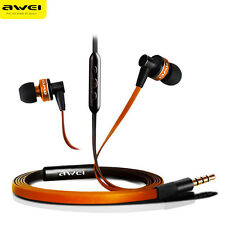 Awei In-ear Headset Headphones Earphone With Mic Controller For iPhone5/5S/6/6S