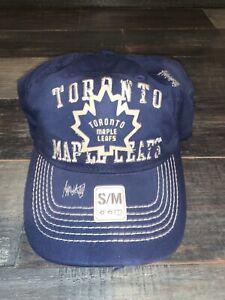 Men's Toronto Maple Leafs CCM Blue Cotton Cap Flex Fitted Hat NWT S/M