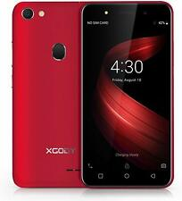 ~NEW~ XGODY X6 3G DUAL SLIM SMARTPHONE ANDROID 8.1 5in 5MP CAMERA PHONE (RED)