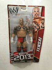 WWE BOXED TENSAI BASIC SERIES BEST OF 2013 MATTEL WRESTLING ACTION FIGURE