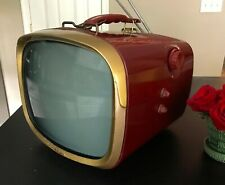 Vintage 1957 RCA Portable Television - Working - Beautiful Condition!!!